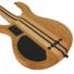 Kép 2/8 - Cort - A6Plus-FMMH-OPN Artisan 6 húros elektromos basszusgitár matt natúr ajándék félkemény tok