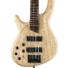 Kép 2/5 - Cort - B4PlusLH-AS Artisan balkezes elektromos basszusgitár natúr ajándék félkemény tok