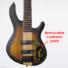 Kép 3/3 - Cort - C5Plus-ZBMH elektromos basszusgitár 5 húros tobacco sunburst ajándék félkemény tok