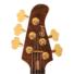 Kép 3/3 - Cort - Rithimic 5 húros elektromos basszusgitár Jeff Berlin Signature modell ajándék félkemény tok