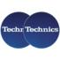 Kép 2/2 - Technics - Slipmats Technics Logo blue Készletakció