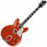 Kép 1/3 - Hagstrom - Super Viking Mandarin Flame Elektromos jazz gitár