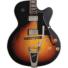 Kép 2/7 - Cort - YorktownBV-TAB with bag félakusztikus gitár tokkal Bigsby-vel tobacco sunburst