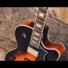 Kép 4/7 - Cort - YorktownBV-TAB with bag félakusztikus gitár tokkal Bigsby-vel tobacco sunburst