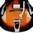 Kép 6/7 - Cort - YorktownBV-TAB with bag félakusztikus gitár tokkal Bigsby-vel tobacco sunburst