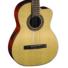 Kép 3/7 - Cort - AC120CE-OP klasszikus gitár elektronikával matt natúr ajándék puhatok
