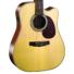 Kép 3/8 - Cort - MR600F-NAT akusztikus gitár Fishman EQ-val natúr ajándék puhatok