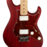 Kép 5/5 - Cort - G100HH-OPBC elektromos gitár vörös ajándék puhatok