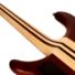Kép 9/10 - Cort - A5Plus-FMMH-OPN Artisan 5 húros elektromos basszusgitár matt natúr ajándék félkemény tok