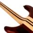 Kép 8/8 - Cort - A6Plus-FMMH-OPN Artisan 6 húros elektromos basszusgitár matt natúr ajándék félkemény tok