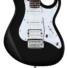 Kép 2/2 - Cort - G250-BK elektromos gitár fekete ajándék puhatok
