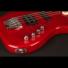 Kép 4/9 - Cort - GB74JH-TR elektromos basszusgitár piros ajándék félkemény tok