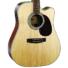Kép 2/8 - Cort - MR710F-PF-NAT Akusztikus gitár elektronikával natúr ajándék félkemény tok