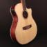 Kép 4/8 - Cort - GA-MEDX-12-OP 12-húros akusztikus gitár elektronikával natúr ajándék húrtisztító
