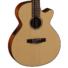 Kép 6/11 - Cort - CEC-3-NS Klasszikus gitár elektronikával matt natúr ajándék puhatok