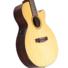 Kép 4/9 - Cort - CEC-7-NAT Klasszikus gitár elektronikával natúr ajándék félkemény tok