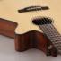 Kép 5/9 - Cort - CEC-7-NAT Klasszikus gitár elektronikával natúr ajándék félkemény tok