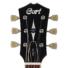 Kép 3/7 - Cort - CR250-TBK elektromos gitár fekete ajándék félkemény tok