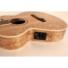 Kép 5/10 - Cort akusztikus gitár EQ-val, Ash Burl, natúr