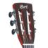 Kép 5/5 - Cort - Sunset Nylectric elektro-klasszikus gitár natúr ajándék félkemény tok