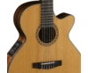 Cort - CEC-7-NAT Klasszikus gitár elektronikával natúr, közelről