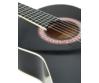 Dimavery - AC-303 Klasszikus gitár fekete színben, fedlap