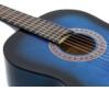 Dimavery - AC-303 Klasszikus gitár kék színben, fedlap