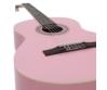 Dimavery - AC-303 Klasszikus gitár rózsaszín, fedlap