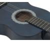 Dimavery - AC-303 3/4-es klasszikus gitár kék színben, fedlap