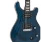 Dimavery - DP-600 elektromos gitár kék-láng ajándék puhatok
