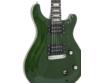 Dimavery - DP-600 elektromos gitár zöld-láng ajándék puhatok