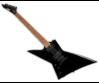 LTD - EX-200 BLK LH 6 húros balkezes elektromos gitár