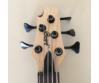 Cort - B5PlusLH-AS Artisan balkezes 5 húros elektromos basszusgitár natúr, kulcsok