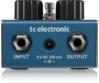 TC Electronic - Fluorescence Shimmer Reverb effektpedál, hátulról