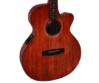 Cort akusztikus gitár EQ-val, mahagóni