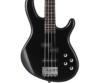 Cort - ActionPlus-BK elektromos basszusgitár fényes fekete ajándék puhatok