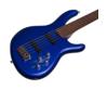 Cort - ActionVPlus-BM 5 húros elektromos basszusgitár metálkék ajándék puhatok