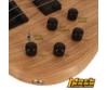 Cort - ActionDLX-AS-OPN elektromos basszusgitár natúr ajándék puhatok