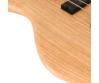 Cort - ActionDLXV-AS-OPN elektromos basszusgitár natúr ajándék félkemény tok