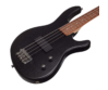 Cort - ActionJr-OPB elektromos junior basszusgitár fekete ajándék puhatok