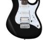 Cort - G250-BK elektromos gitár fekete ajándék puhatok
