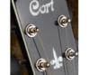 Cort akusztikus gitár, fekete